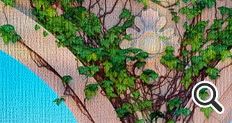 Пример текстуры Холст
