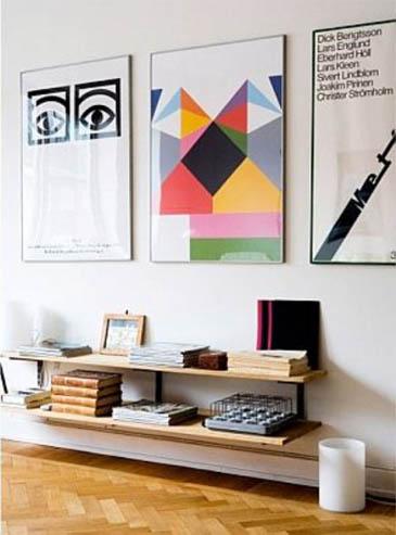 Постеры в интерьере